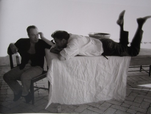 "fuckyeahfedericofellini:  On the set of ""8½""."