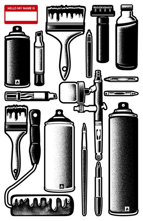 grafflicks:  TOOLS of the TRADE / www.grafflicks.com
