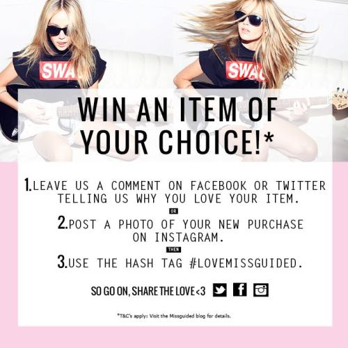 Ppssstttt it's competition time again girlies… Head over to our Facebook or Twitter to enter!!  Share the mg love :) <3 xox