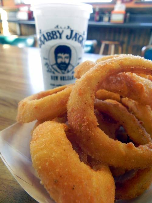 Thick-cut Onion Rings from Crabby Jacks
