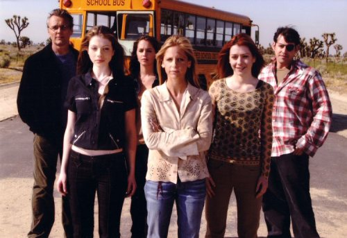 The last episode of Buffy the Vampire Slayer aired ten years ago today on May 20th, 2003  I am feeling very old. Ten years ago today, I sat in my childhood bedroom sitting at my desk crying. I remember Robin calling me to see if I was (half jokingly) okay and I was in tears over Anya and Spike and the fact that my favorite show was over.  Sigh. So it goes.