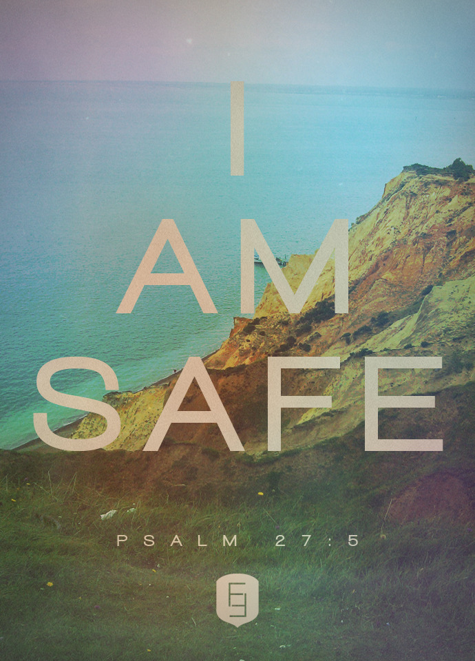 "spiritualinspiration:  ""In the day of trouble he will keep me safe in his dwelling; he will hide me in the shelter of his tabernacle and set me high upon a rock"" (Psalm 27:5, NIV) Have you ever watched children play hide and seek? They look for the best place to hide in the house or yard and wait quietly for their friend to try to find them. It's a fun game for kids, but even as adults, we need a good place to hide from time to time. Sometimes we need a place of refuge, we need a place of safety, and we need a place to rest when we feel overwhelmed by the circumstances of life — a place where the enemy of our soul can never find us. The good news is that God has the perfect hiding place for you! You don't have to hide in your job. You don't have to hide in relationships. You don't have to hide in food or addictions because God Himself promises to hide you! He freely offers you shelter from the storms of life any time you call upon His name. Remember, there's only one place the enemy cannot find you. There's only one place where opposition cannot steal from you. There's only one true place of safety and rest for your soul, and that is in the arms of Jesus. Know that He loves you, and He is ready to receive you when you call upon His name!"