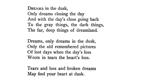 "aseaofquotes:  Carl Sandburg, ""Dreams in the Dusk"""