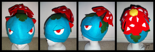 fallenzephyrart:  COMM: Venusaur Hat by =FallenZephyr Commission 1 of 2 for abadexperience on Reddit
