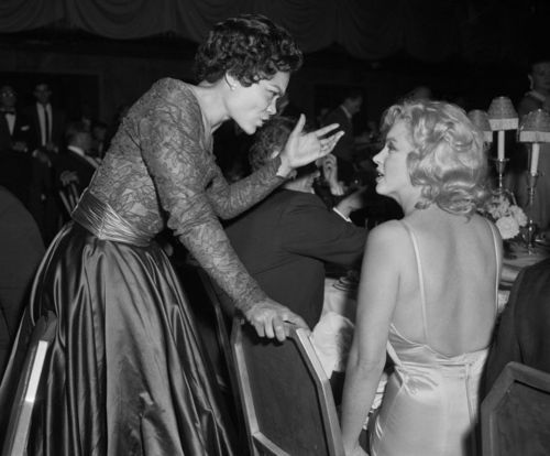 Eartha Kitt and Marilyn Monroe