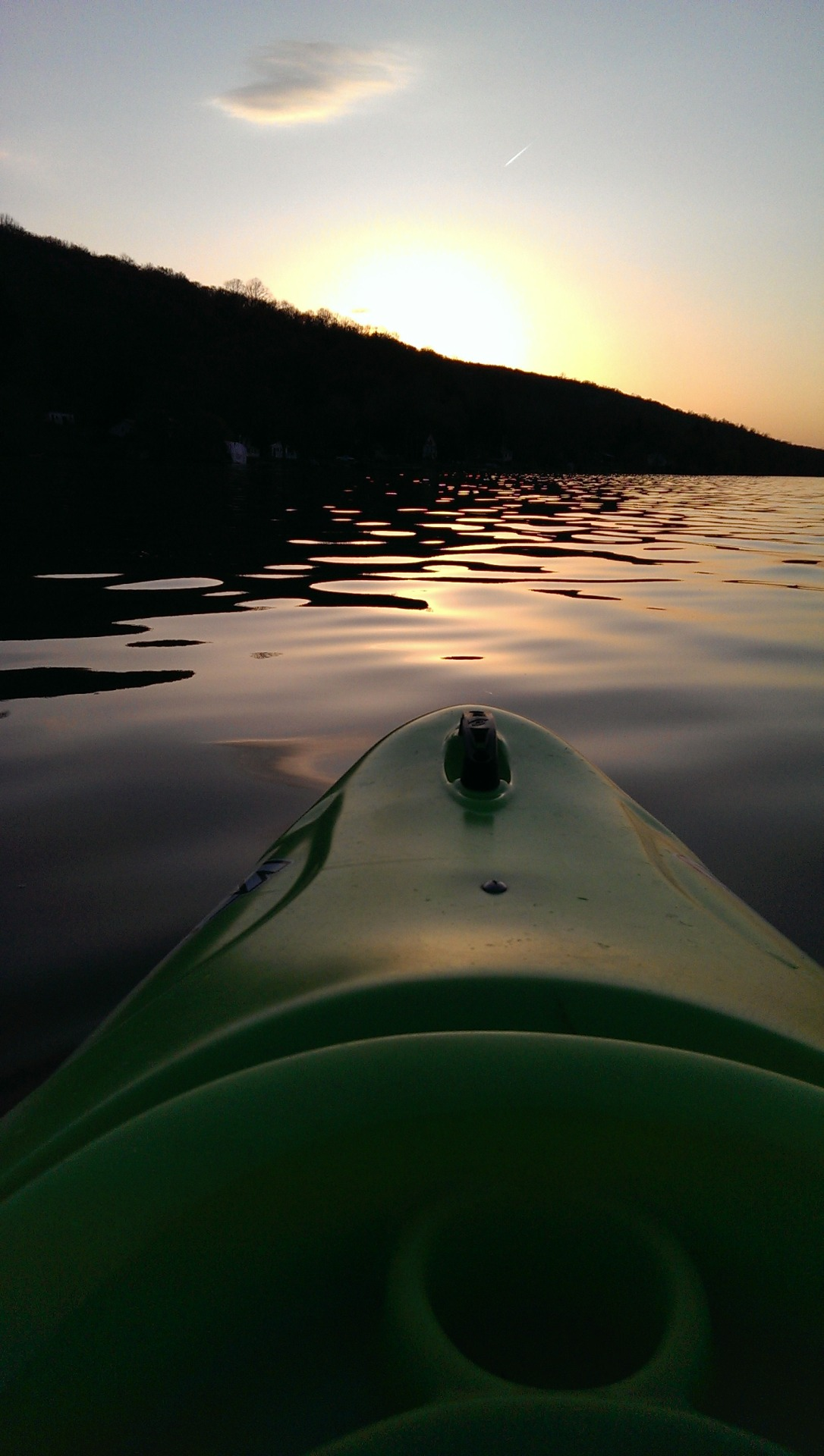 kayak, tonight
