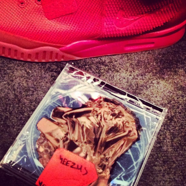 All red yeezy would be a must cop