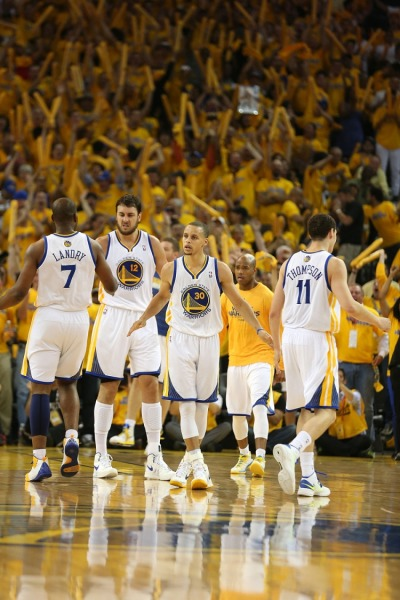Warriors ready for Round 2 and about to shock the world and upset the Spurs… Are you Ready? #LetsGoWarriors