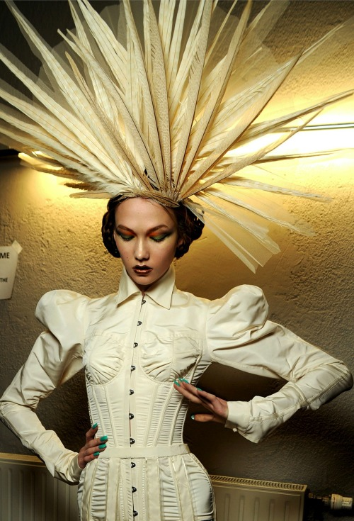 Jean Paul Gaultier haute couture s/s 2010 backstage