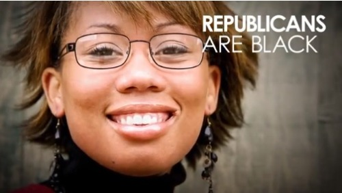 cognitivedissonance:  gunpowderandspark:  (Source) The Republican Party recently released an ad assuring us that, yes, there actuallyareBlack Republicans. A message that would have probably been more impactful if theonly appearance of aBlack person in their video wasn't a stock photo they had to pay to use…  Welp.