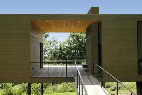 bridge studio | entry ~ hanrahan meyers architects