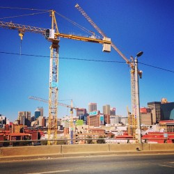 #construction #city #joburg #jozi #johannesburg #newtown (at Newtown)