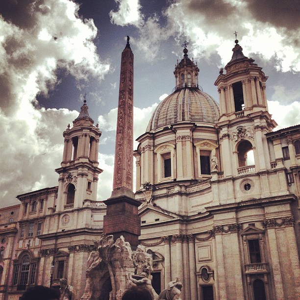 Ahhhh Roma you are so beautiful #Navona #romanempire #Bernini #anglesanddeamons #lovely