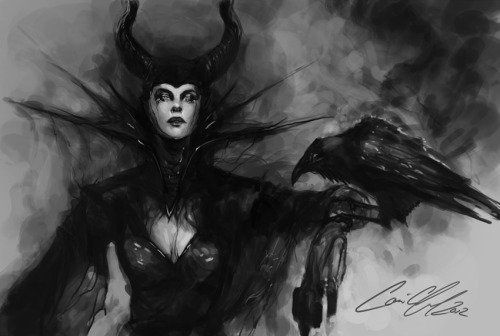 fetalnightmare:  Maleficent