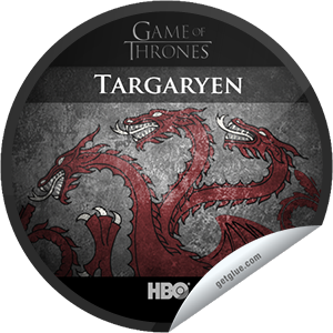 I just unlocked the Game of Thrones Season 2 Marathon: House Targaryen sticker on GetGlue                      7483 others have also unlocked the Game of Thrones Season 2 Marathon: House Targaryen sticker on GetGlue.com                  You're watching the season 2 marathon of Game of Thrones in preparation for tonight's Season 3 premiere at 9PM on HBO! Share this one proudly. It's from our friends at HBO.