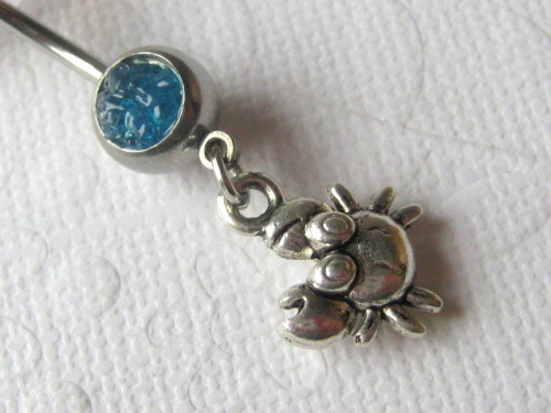 little crab belly ring https://www.etsy.com/listing/151289932/body-jewelry-belly-button-jewelry-crab?ref=shop_home_active