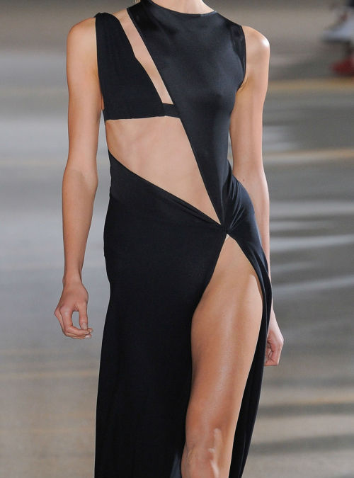 maisonmartinmargielous:   karlie kloss at anthony vaccarello s/s 2012  I want this to be my wedding dress straight up