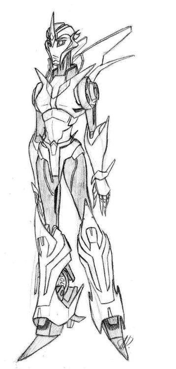 Transformers Prime Arcee by Autocon21 ————————— (I really hope this uploads this time) First time drawing Arcee full body, so that's why the pose is a little bland and boring, so to speak. Hopefully I'll be able to draw her being all badass soon 8U and omg so many refs I needed to uuuse