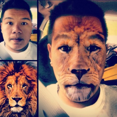 Rian the Lion. #facefusion @lanierjp