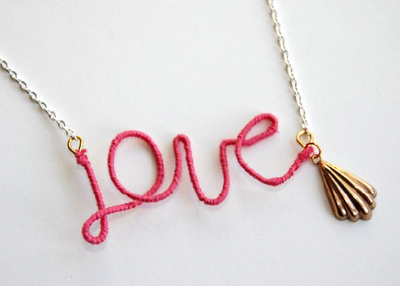 DIY: Love Necklace tutorial