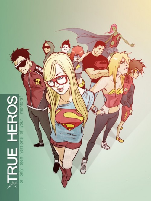 newedenseries:  P:R Approved: Pericles Junior's Teen Titans! | via @ProjectRooftop @_pejota_