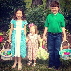 The Bordelon cousins on Easter Sunday! #latergram #easter