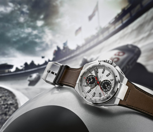 Introducing the IWC Ingenieur Chronograph Silberpfeil, A Tribute To the Legendary Mercedes-Benz Silver Arrow