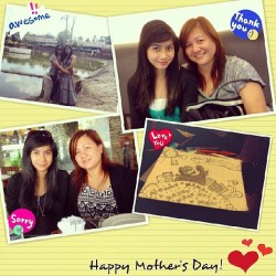 Happy Mother's Day Ma! Thank you everything. Loveyoou :)