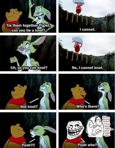 I Love you pooh!pooh who?! hahaha :D