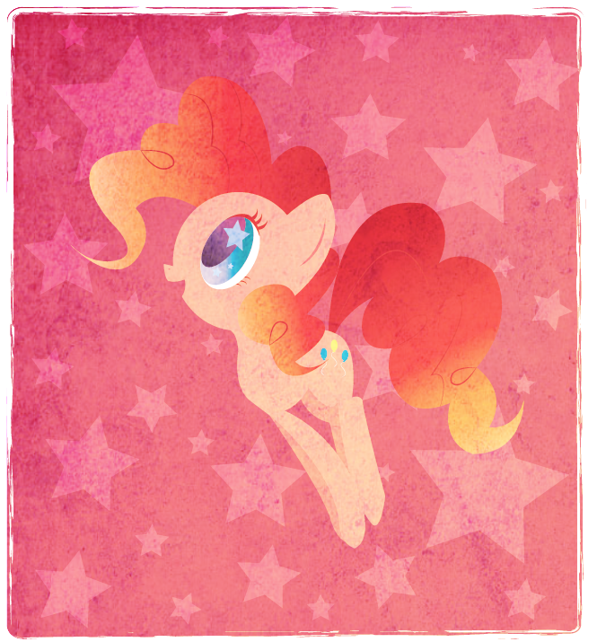 kawaii-rainbow-pony:  Pink by ~DisfiguredStick