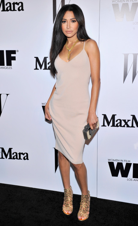 Naya Rivera attends MaxMara And W Magazine Cocktail Party To…