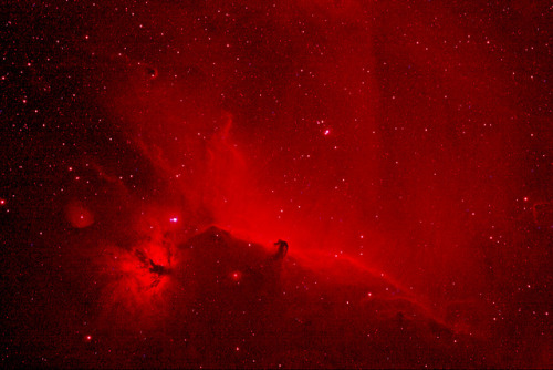 spacettf:  Flame and Horsehead in IR by gainesp2003 on Flickr.