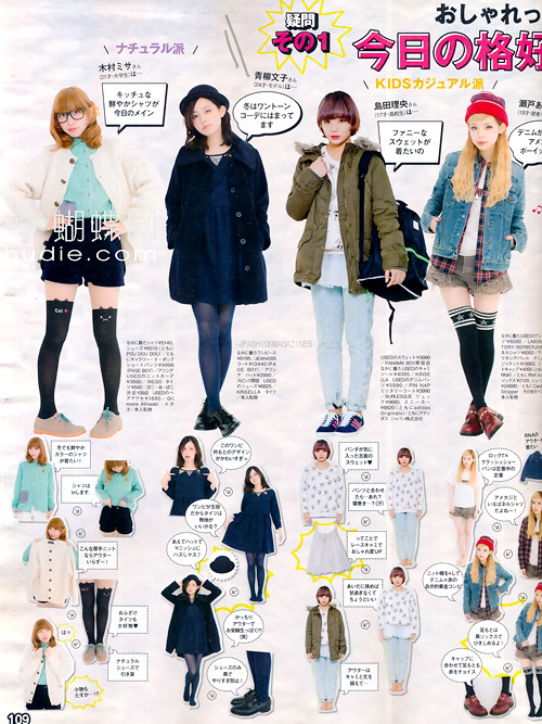 Zipper February 2013 | How to make coordinates: more HD here