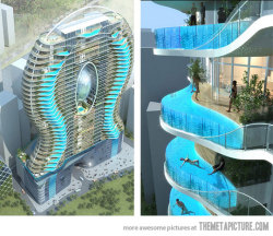 lol-coaster:  cool building pool balconyhttp://lol-coaster.tumblr.com