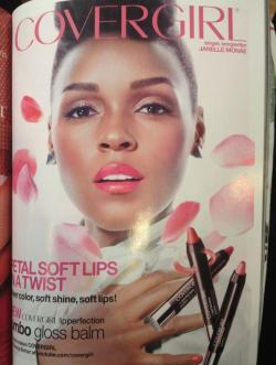 Another Covergirl decked out in Binns! Found Janelle Monáe in our Tom Binns Design Clash Chic earrings in this month's Vogue