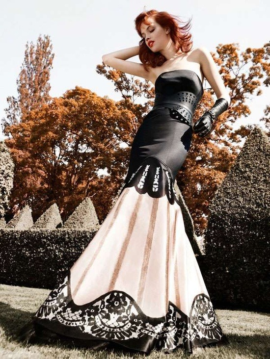 a-harlots-progress:  High Society Editorials - The Vogue Russia May 2012 'Scary Girl' Photoshoot is Upper Class (GALLERY)