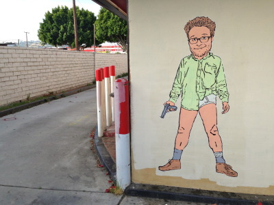 tomhanksy:  Meth Rogen. Hollywood, CA.