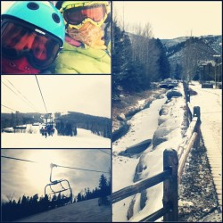 shredding Beaver! #BeaverCreek #snowboarding #springbreak #boyfriend #snow #Colorado (at Beaver Creek Ski Resort)