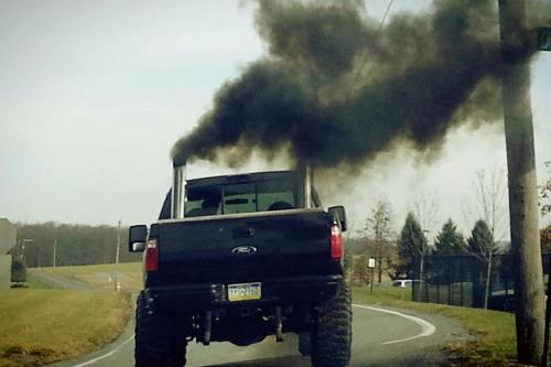 trucks diesel ford stacks powerstroke lifted trucks Rollin ...