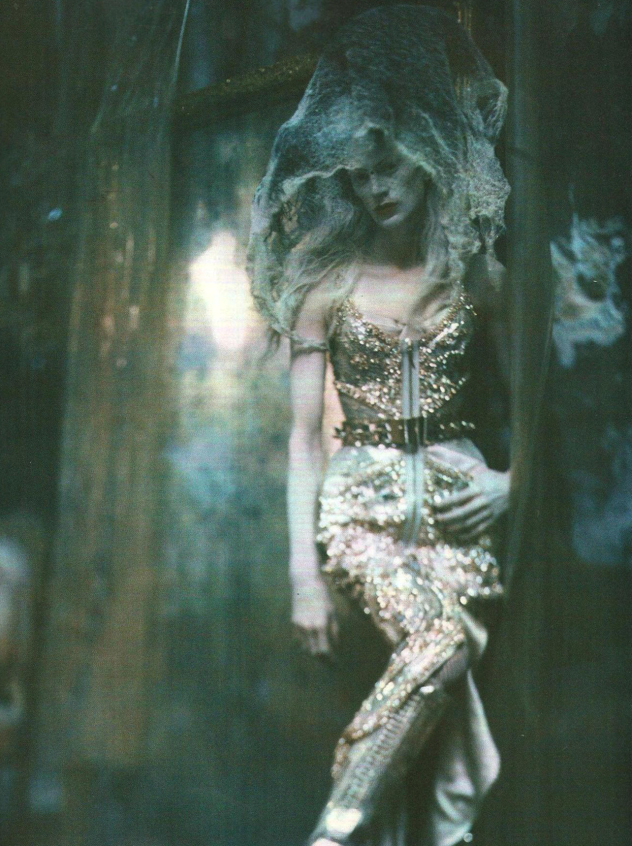 candentia:  Kristen McMenamy in 'The Grand Couture' Photographer: Paolo Roversi Dress: Givenchy Haute Couture F/W 2010/11 Vogue Italia September 2010