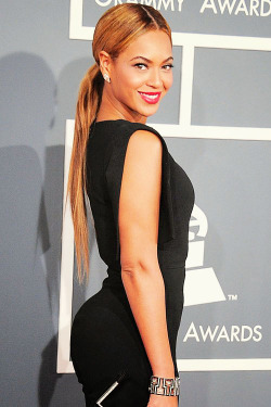 Beyonce at the 55th Annual GRAMMY Awards.