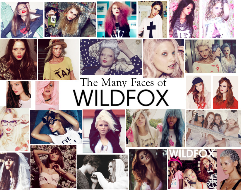 The many faces of WILDFOX. Makeup by Carlene K 2009-2013 #ILoveMyJob @WildfoxCouture