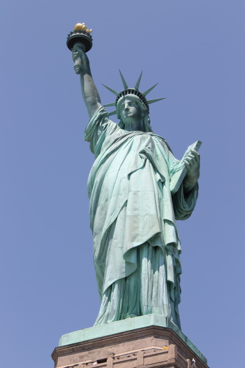Taken during my trip to the Statue of Liberty
