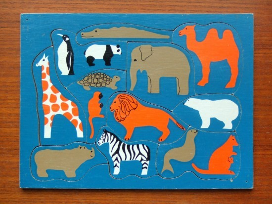 Coup de Coeur: this old jigsaw.