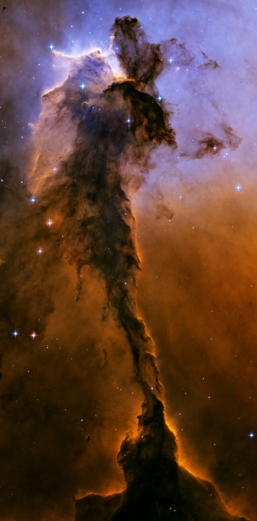 atimeandspace:  Stellar Spire in the Eagle Nebula