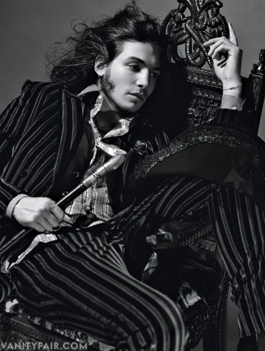 bohemea:  Ezra Miller - Vanity Fair Hollywood Issue by Bruce Weber, March 2013