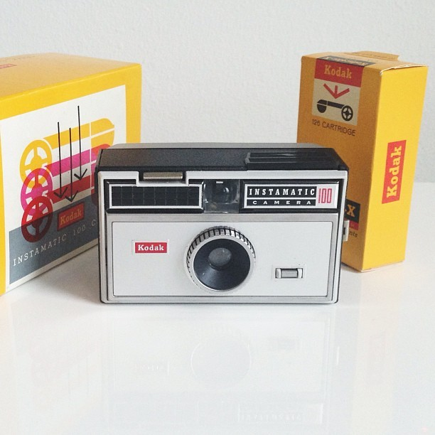 Senaste kamerafyndet #kodak #instamatic   #cameracollection