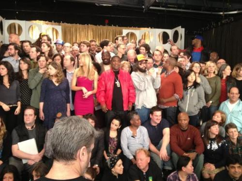 "Kevin ""Dotcom"" Brown tweets last-ever photo from the 30 Rock set; a nation mourns."