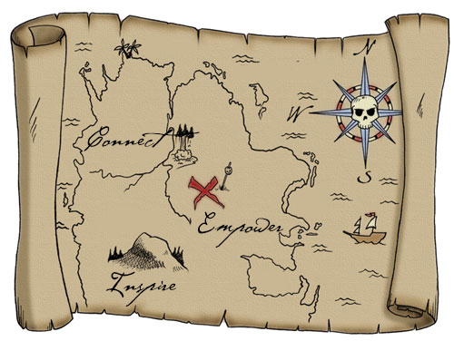 X marks the spot! Click on the X on this mysterious treasure map to see what's in store. Treasure awaits you! Until April 28th, ITASA is partnering with some very special groups to provide you with treasures you are sure to cherish for years to come. Curious? It's only a click away!