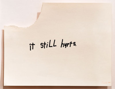 """it still hurts"" by cary s. leibowitz"